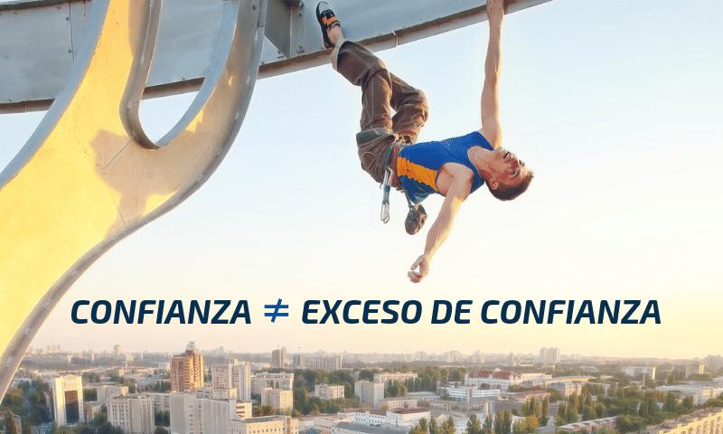 la confianza y el exceso de confianza no son la misma cosa