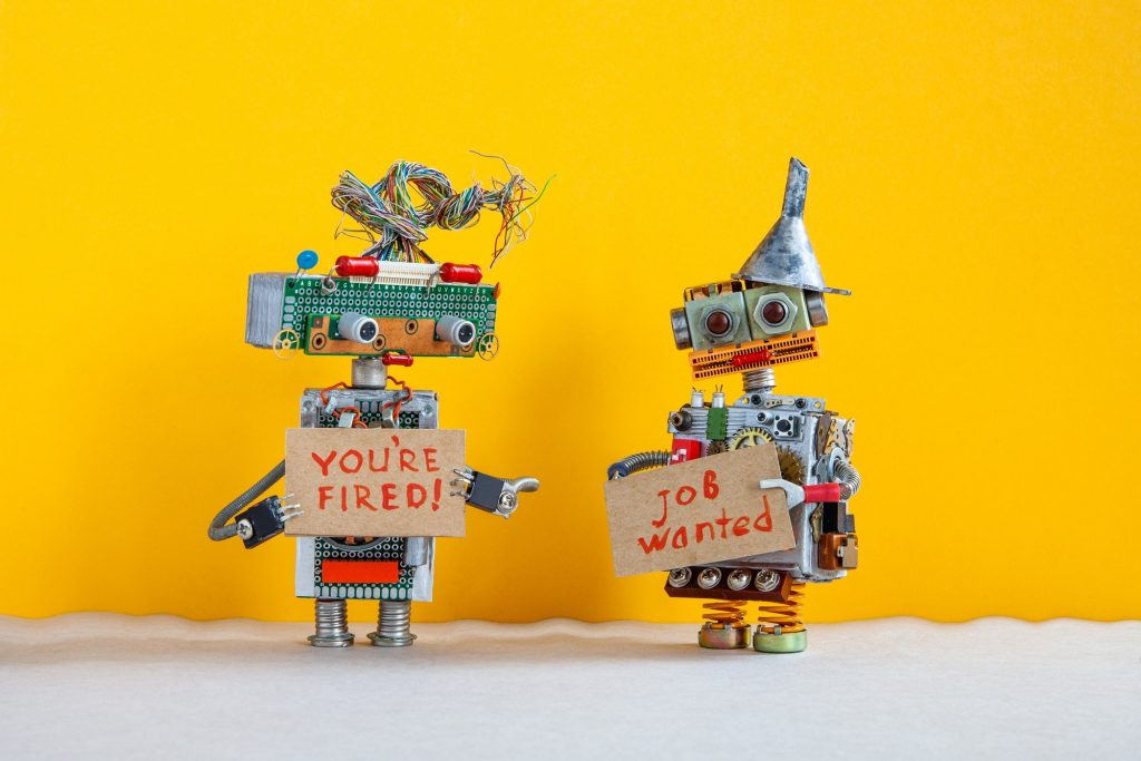 The relationship between robotic employer and employee.